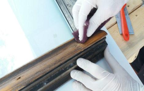 Επιδιόρθωση ξύλινου παραθύρου