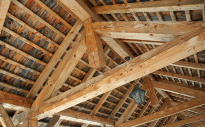 Grandparents' house – Wood care
