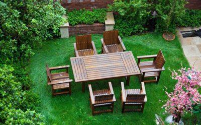 Γρήγορη ανανέωση του χρώματος των επίπλων κήπου