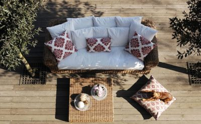 Wooden terrace… sense of natural comfort