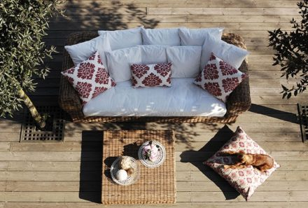 Wooden terrace… sense of natural comfort