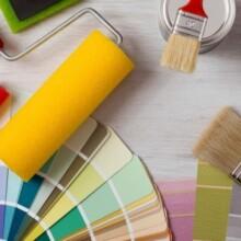 Χρώματα, Βερνίκια & Υλικά